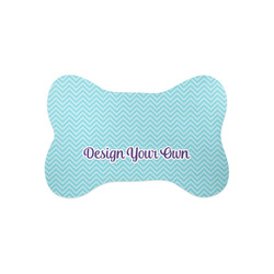 Design Your Own Bone Shaped Dog Food Mat (Small)