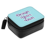 Design Your Own Small Leatherette Travel Pill Case (Personalized)