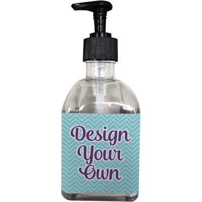 Design Your Own Personalized Soap/Lotion Dispenser (Glass)