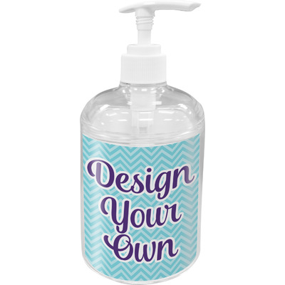 Design Your Own Personalized Soap / Lotion Dispenser