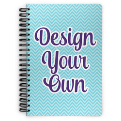 Design Your Own Spiral Bound Notebook - 7x10 (Personalized)