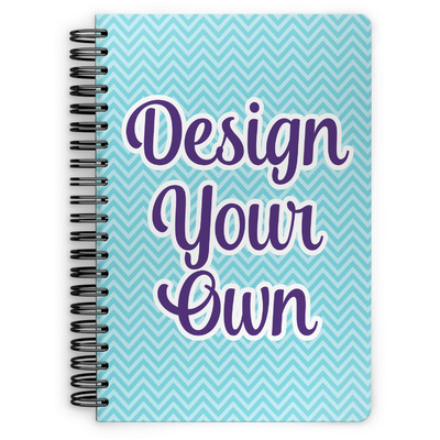 Design Your Own Personalized Spiral Bound Notebook - 7x10