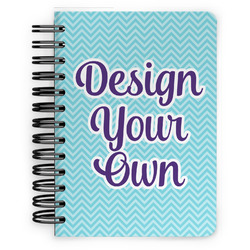 Design Your Own Spiral Bound Notebook - 5x7 (Personalized)