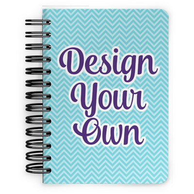 Design Your Own Personalized Spiral Bound Notebook - 5x7