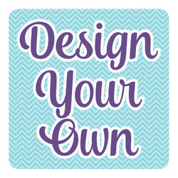 Design Your Own Square Decal - Custom Size (Personalized)