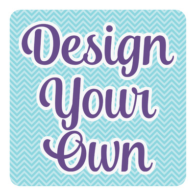 Design Your Own Personalized Square Decal - Medium