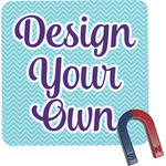Design Your Own Square Fridge Magnet (Personalized)