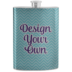 Design Your Own Stainless Steel Flask (Personalized)