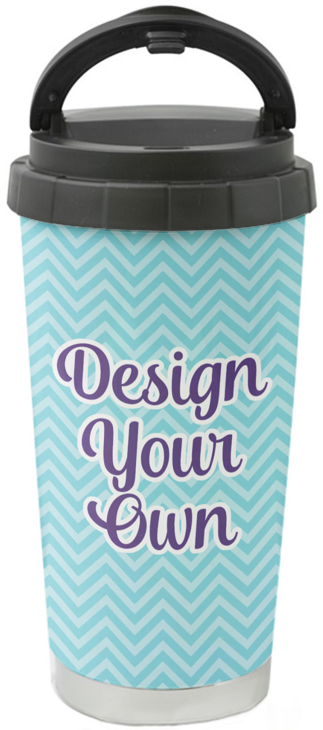 Design Your Own Stainless Steel Travel Mug Personalized