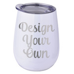 Design Your Own Stemless Stainless Steel Wine Tumbler