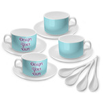 Design Your Own Tea Cup - Set of 4 (Personalized)