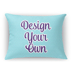 Design Your Own Rectangular Throw Pillow Case (Personalized)