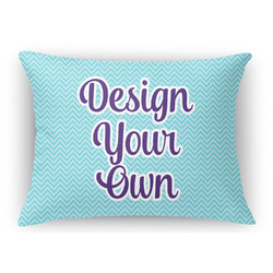 Design Your Own Rectangular Throw Pillow Case