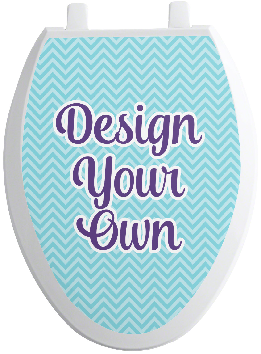 Design Your Own Toilet Seat Decal Personalized Youcustomizeit