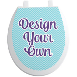 Design Your Own Toilet Seat Decal (Personalized)