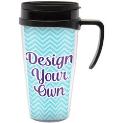 Design Your Own Travel Mug with Handle (Personalized)
