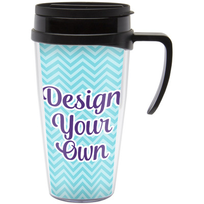 Design Your Own Personalized Travel Mug with Handle