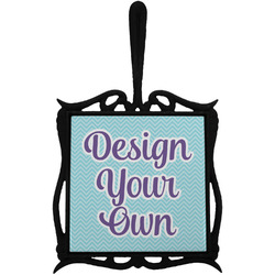 Design Your Own Trivet with Handle (Personalized)