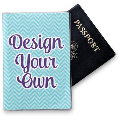 Design Your Own Personalized Vinyl Passport Holder