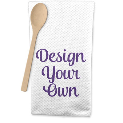 Design Your Own Personalized Waffle Weave Kitchen Towel