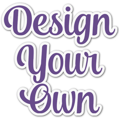 Design Your Own Personalized Graphic Decal - Medium