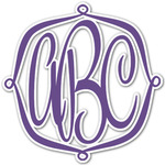 Design Your Own Monogram Decal - Custom Sized (Personalized)