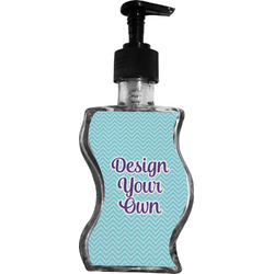 Design Your Own Wave Bottle Soap / Lotion Dispenser (Personalized)