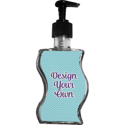 Design Your Own Personalized Wave Bottle Soap / Lotion Dispenser