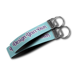 Design Your Own Wristlet Webbing Keychain Fob