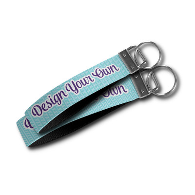 Design Your Own Wristlet Webbing Keychain Fob