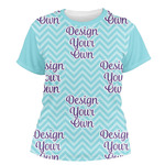 Design Your Own Women's Crew T-Shirt (Personalized)