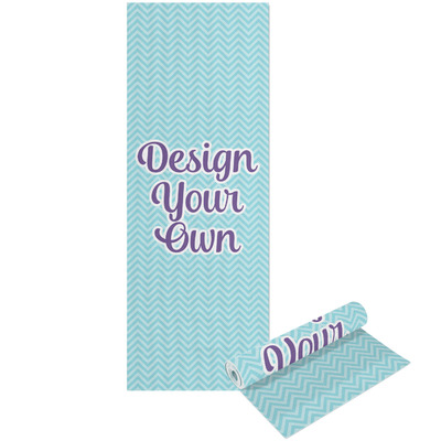 Design Your Own Personalized Yoga Mat - Printable Front and Back