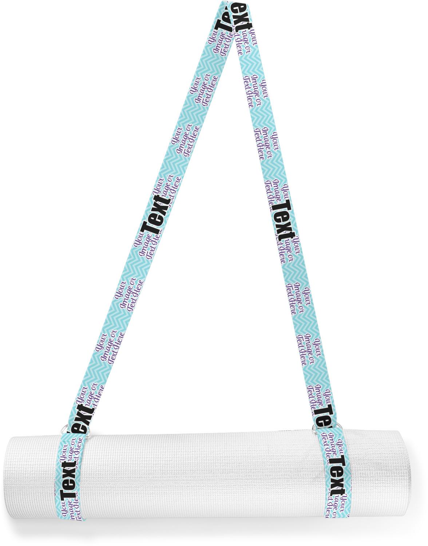 YouCustomizeIt Girls Astronaut Yoga Strap Personalized