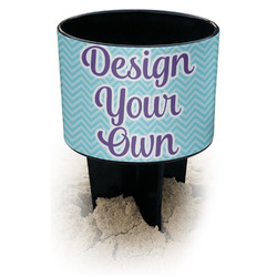 Design Your Own Black Beach Spiker Drink Holder (Personalized)