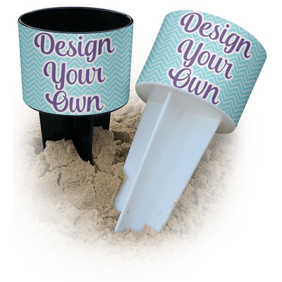 Design Your Own Personalized Beach Spiker Drink Holder