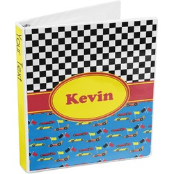 Racing Car 3-Ring Binder (Personalized)