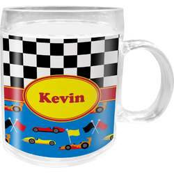 Racing Car Acrylic Kids Mug (Personalized)