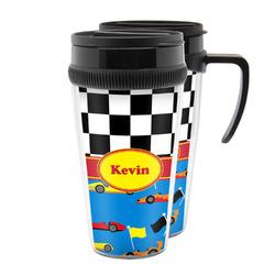 Racing Car Acrylic Travel Mugs (Personalized)