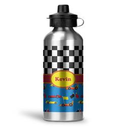 Racing Car Water Bottle - Aluminum - 20 oz (Personalized)