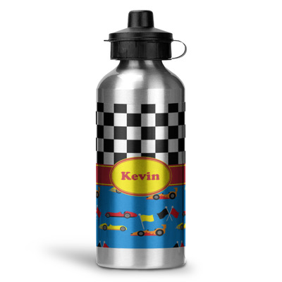 Racing Car Water Bottle - Aluminum - 20 oz (Personalized)