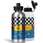 Racing Car Water Bottles- Aluminum (Personalized)
