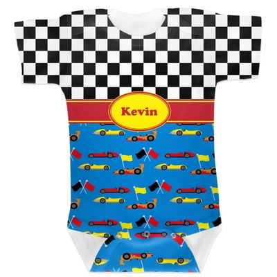 Racing Car Baby Bodysuit 6-12 (Personalized)
