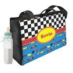 Racing Car Diaper Bag w/ Name or Text