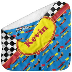 Racing Car Baby Hooded Towel (Personalized)