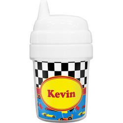 Racing Car Baby Sippy Cup (Personalized)
