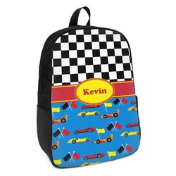 Racing Car Kids Backpack (Personalized)