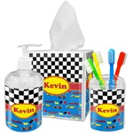 Racing Car Bathroom Accessories Set (Personalized)