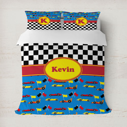 Racing Car Duvet Cover (Personalized)