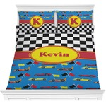 Racing Car Comforter Set (Personalized)