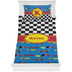 Racing Car Comforter Set - Twin (Personalized)